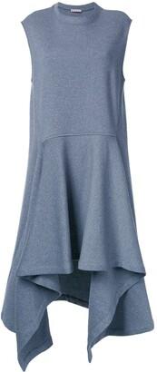 Marni Asymmetric Double Faced Dress