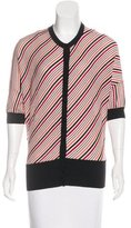 Balenciaga Wool Striped Cardigan