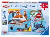 Disney Ravensburger Planes Dusty and Friends Puzzles in a Box - 3 x 49pc