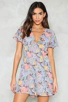 Nasty Gal Sun is Shining Floral Romper