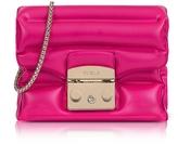 Furla Pinky Rubber Metropolis Oxygen Mini Crossbody Bag