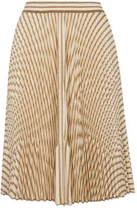 Missoni Glitter Striped Midi Skirt