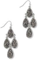 New York & Co. Faux-Druzy Chandelier Earring