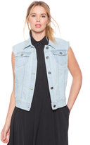 ELOQUII Plus Size Denim Vest