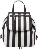 Marc Jacobs Women's Stripes Printed Trooper Backpack