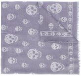 Alexander McQueen 'Skull' scarf - men - Modal/Silk - One Size