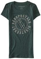 Aeropostale Womens Aero Varsity 1987 Graphic T Shirt