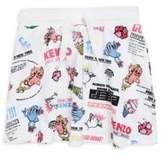 Kenzo Toddler's, Little Girl's & Girl's Food Print Cotton Skirt