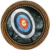 GiftJewelryShop Ancient Style Gold-plated Olympics Archery target Winding Pattern Pins Brooch