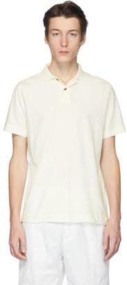 Jil Sanderand White Jersey Polo