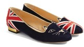 Charlotte Olympia Women's Great Britain Kitty Flat