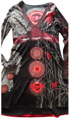 Desigual Black Cotton - elasthane Dresses