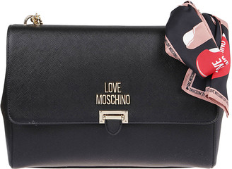 Love Moschino Black Eco-leather Bag
