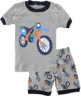 Kidsmall Baby Boys Girls Shorts Pajama Set Sleepwear 100% Cotton-7T