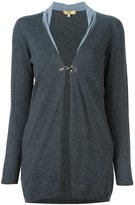 Fay one button cardigan
