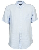 Gant THE LINEN SHIRT Blue