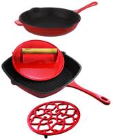 Berghoff Cast Iron Cookware Set (4 PC)