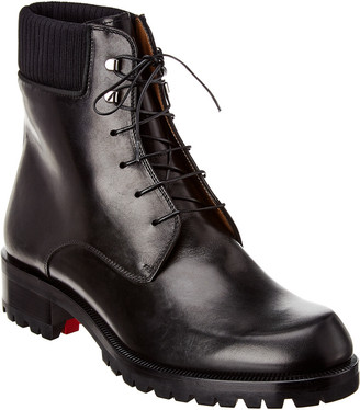 Christian Louboutin Trapman 20 Leather Boot
