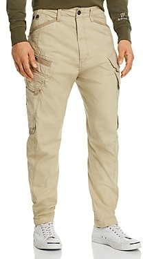 G Star Droner Relaxed Regular Fit Tapered Pants in Khaki