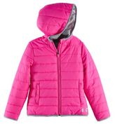 Under Armour Puffer Jacket in Pink/Grey