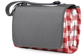 Picnic Time 'Blanket Tote' Outdoor Picnic Blanket - Red Check with Black Lining