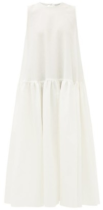 Cecilie Bahnsen Anna Karin Floral-cloque Dress - White
