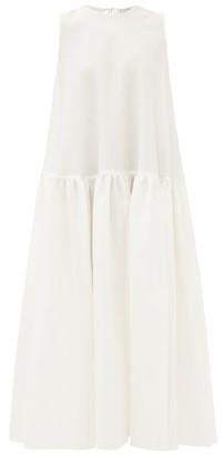 Cecilie Bahnsen Anna Karin Floral-cloque Dress - White