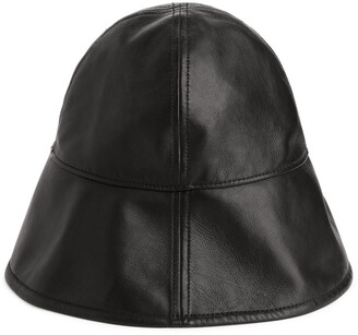 Arket Leather Bucket Hat