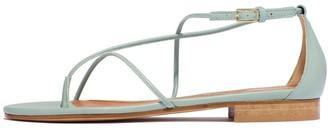Emme Parsons String Sandal in Celadon