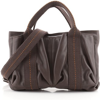 Hermes Horizontal Caravan Bag Leather PM