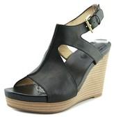 Me Too Atlantis6 Open Toe Leather Wedge Sandal.