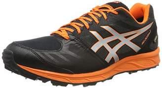 Asics Men's Gel-fujisetsu GTX 2 Running Shoes, (Performance Black/Shocking Orange 001)