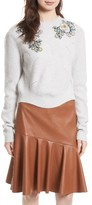 Rebecca Taylor Women's Merino Wool Blend Pullover