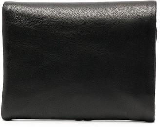 Discord Yohji Yamamoto Kiss-Lock-Compartment Leather Wallet