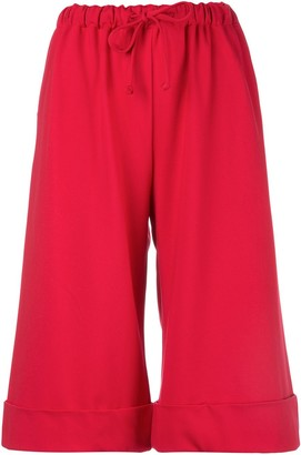 Simone Rocha Wide-Leg Cropped Trousers