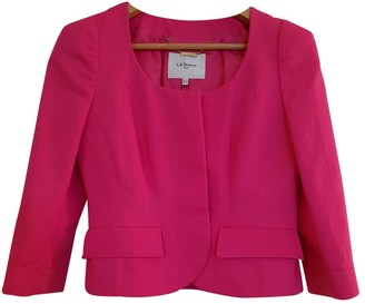 LK Bennett Pink Cotton Jacket for Women