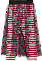 Junior Gaultier Polka Dots Tulle Skirt Leggings