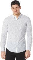 Perry Ellis Slim Fit Active Geo Print Shirt