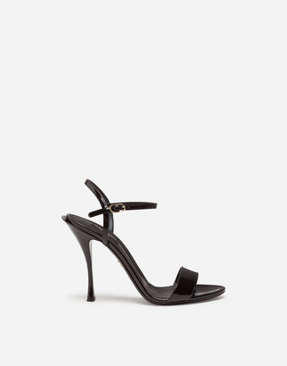 Dolce & Gabbana Polished Calfskin Sandals