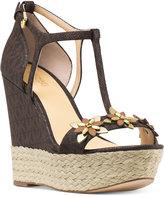 MICHAEL Michael Kors Heidi Wedge Sandals