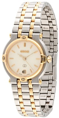 Gucci Pre-Owned pre-owned 9000L watch
