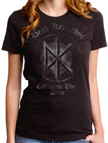 Goodie Two Sleeves Black Dead Kennedys Classic Tee - Women