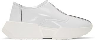 MM6 MAISON MARGIELA White Chunky Slip-On Sneakers