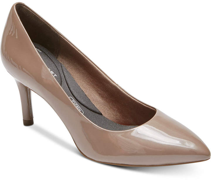 Rockport Women Total Motion Pointed-Toe Pumps Women Shoes