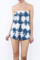 Blue Life Tube Romper