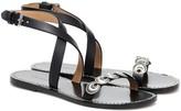 Isabel Marant Eldory embellished leather sandals