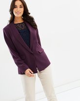 Dorothy Perkins Crepe One Button Blazer