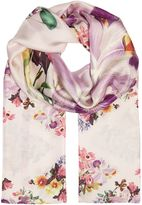 Ted Baker Lost garden long silk scarf