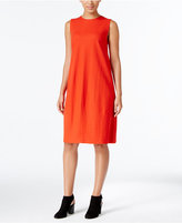 Eileen Fisher Wool Jersey Shift Dress