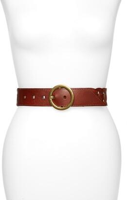 Treasure & Bond Interlock Leather Belt
